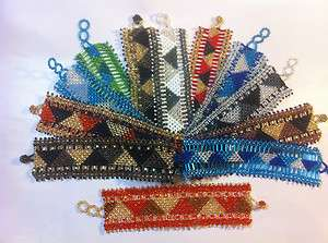 Hand Beaded and Woven Bracelets hand crafted Made in Guatemala