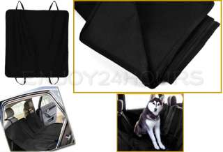 Dog Car Rear Back Seat Cover Pet Mat Blanket Hammock