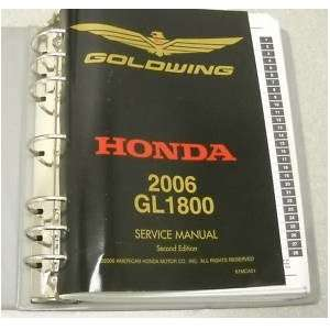 2006 Honda Gold Wing GL1800 Service Shop Manual OEM honda Books