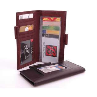 ID Checkbook Cover and Card Holder  Classic Clothing Mens Accessories