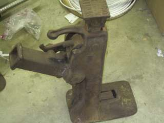 Simplex 101 mechanical railroad dual lift jack 12 ton 1914