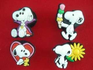 11pcs Cute Snoopy Shoe charms Fit Crocs Jibbitz