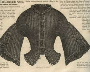 52 CIVIL WAR ERA 1861 CROCHET & KNITTING PATTERNS