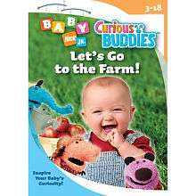 Curious Buddies Lets Go To The Farm DVD   Pbs Paramount