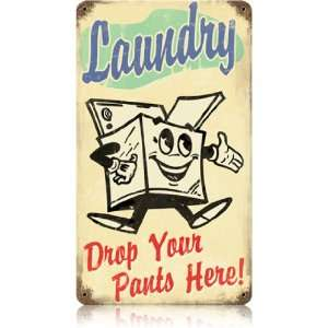 Laundry Room Sign   Old Fashion Laundry Sign
