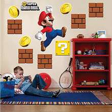 Giant Wall Decals   Super Mario Brothers   Buyseasons