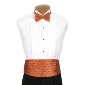 Virginia Tech Cummerbund & Bow Tie Set   Virginia Tech