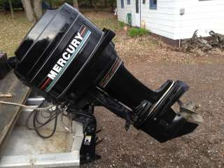 Mercury Marine Outboard boat motor engine power tilt trim 45hp 50 sr