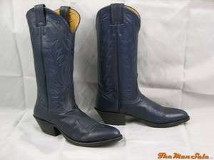 Deer Tanned Leather Cowboy Boots Western Wear Multiple Sizes