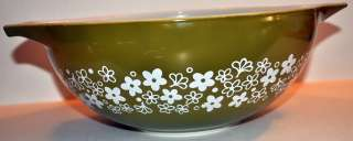 Pyrex 4 Qt Crazy Daisy Spring Blossoms Mixing Bowl