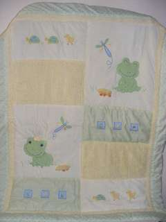 Lambs Ivy Crib Bedding Set Froggy Tales Nursery Mobile Baby Infant