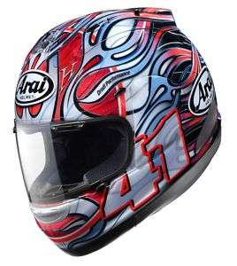 ARAI CORSAIR V HAGA RAINBOW MOTORCYCLE HELMET ALL SIZES