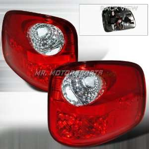 FORD F150 FLARESIDE LED TAIL LIGHTS RED Automotive