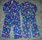 Boys Super Mario Bros & Super Mario Galaxy 4 Pc Fleece Pajamas Size 8