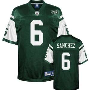 Green Reebok NFL Premier New York Jets Jersey