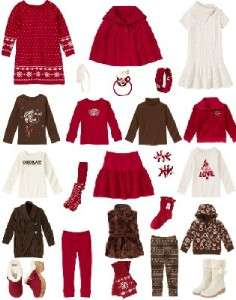 GYMBOREE Alpine Sweetie Skirt Top Pants Dress Youth NWT