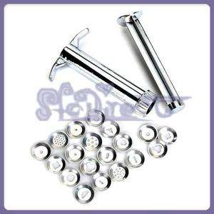Set of 19 shape Stainless Steel Polymer Clay Wax Carver Gun Extrusion