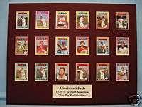 Cincinnati Reds 1975 76 World Series Champions