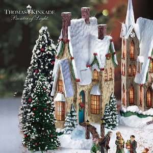 Thomas Kinkade Winter Splendor Christmas Village Collection: