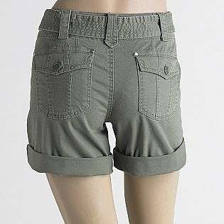Womens Roll Cuff Twill Shorts  Live Life by Sanctuary Clothing Women