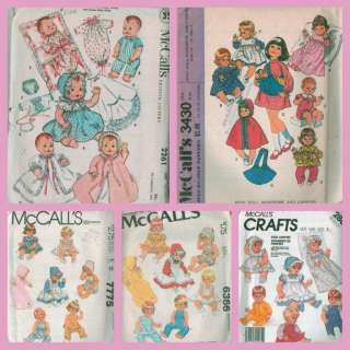 BABY DOLL CLOTHES KNITTING PATTERNS | Browse Patterns