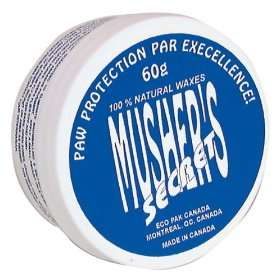 Invisible Dog Boots Wax Based Cream Mushers Secret 60Gm