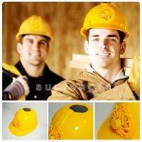 New Brand Solar Safety Helmet Hard Hat Cap With Cooling Cool Fan