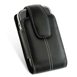 PREMIUM LEATHER CASE PHONE SWIVEL HOLSTER POUCH for BLACKBERRY TORCH