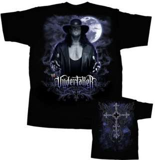 UNDERTAKER Unfinished Business T shirt WWE Authentic