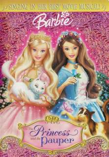 Barbie as the Princess and the Pauper DVD Plus Bonus CD 012236161516