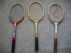 Classic Tennis Rackets Wilson Spalding Jimmy Connors