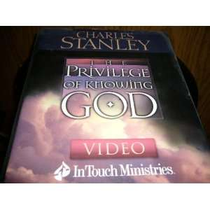 OF KNOWING GOD , BY Charles Stanley VHS & BOOK SET Movies & TV