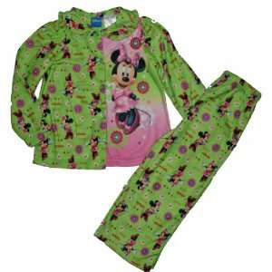 Disney Minnie Mouse Toddler Flannel Pants Pajamas Baby