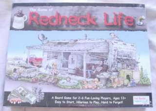 The Game of Redneck Life (Board Game)