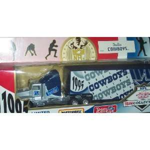 87 Scale Tractor Trailer Truck White Rose Football Collectible