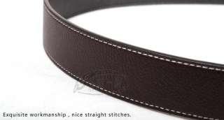 Buckle Reversible 1.5 Fashion Belts Women&Men belt B393 g