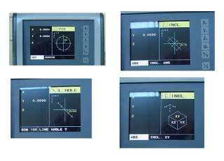 Easson ES 12 LCD universal digital readout, graphic DRO display