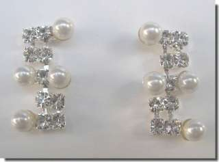 Bridal NECKLACE EARRINGS SET COSTUME Prom JEWELRY N1Y78