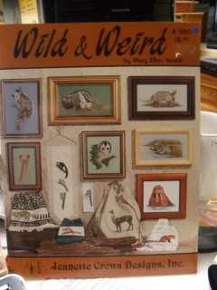 Wild & Weird Animals Counted Cross Stitch pattern chart