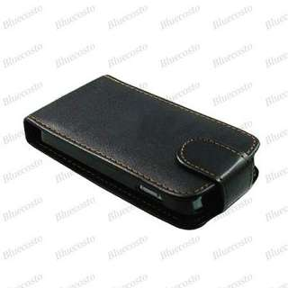 Flip PU Leather Case Cover For Samsung S5830 Galaxy Ace