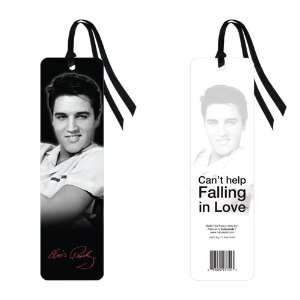 Elvis Presley White Shirt Classic Icon Bookmark (2x8) Office Products