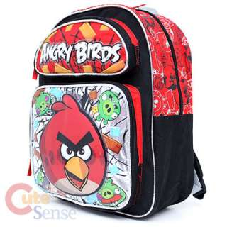 Angry Bird School Backpack Lunch Bag Red Bird Pig 2