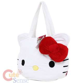 Sanrio Hello Kitty Plush Shoulder bag Hand Bag 3D Bow 2