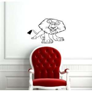 Madagascar Lion Baby Room Nursery Wall Vinyl Sticker Decals Art Mural