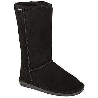 Womens Tall Boot Emma   Black  Bearpaw Shoes Womens Boots