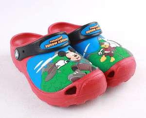 Disney Mickey Mouse Custom Clog Kids Crocs Sandals NWT