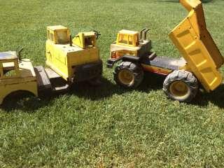 Tonka Dump Truck and Crane SEE ALL PICS
