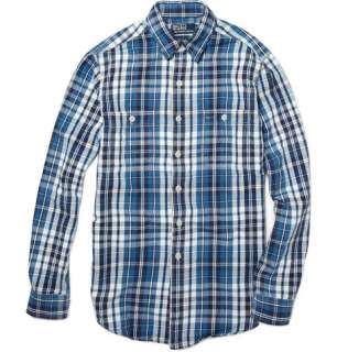 Clothing  Casual shirts  Casual shirts  Plaid Flannel Shirt