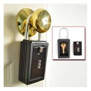 MediVoice Alert® Door Knob Key Lock Box Health