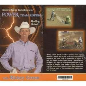 Power Team Roping   Heeling with Rickey Green   DVD